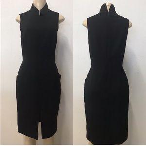 Lavender label Vera Wang black dress